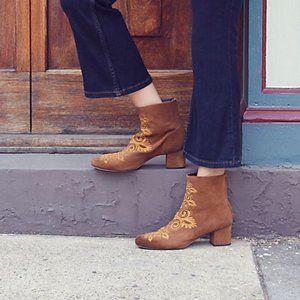 Free People Women's Estella Heel Boot Size 39